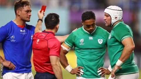 Bundee Aki: Ireland centre's World Cup ended by three-match ban
