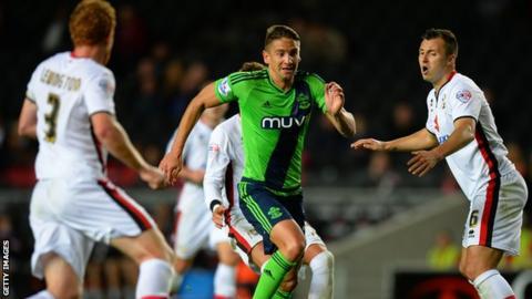 MK Dons v Southampton