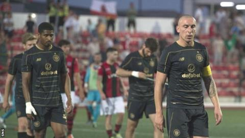 Celtic lost in Gibraltar against the semi-professional outfit