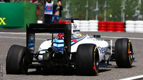 Felipe Massa puncture
