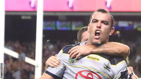 Kane Linnett scored 53 tries in 164 appearances for North Queensland Cowboys