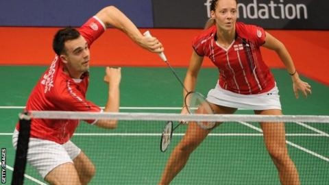 Chris and Gabby Adcock have made the last eight in Indonesia