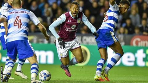 Jordan Ayew fouled in build-up to Aston Villa's winner against Reading