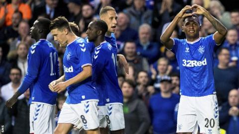 Rangers eased to victory over Midtjylland at Ibrox