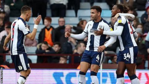 Hal Robson-Kanu gave West Brom the lead
