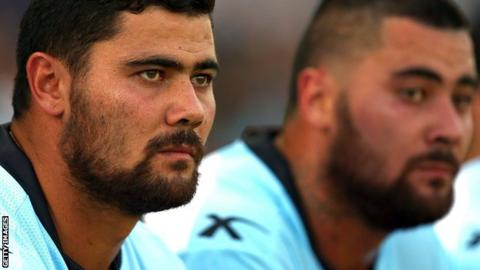 David (left) and Andrew Fifita