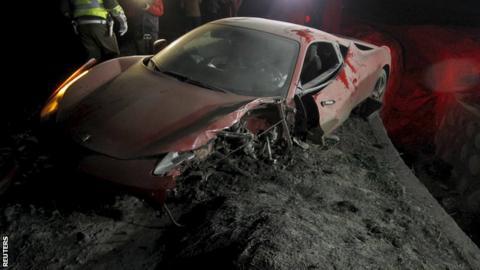 Arturo Vidal's Ferrari