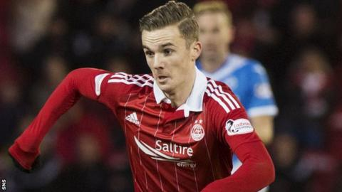 James Maddison in action for Aberdeen