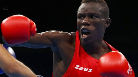 Cameroonian boxer Simplice Fotsala is one of the athletes reported missing by team officials