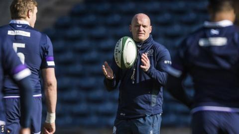Scotland name 40 man November Test squad, including three uncapped players