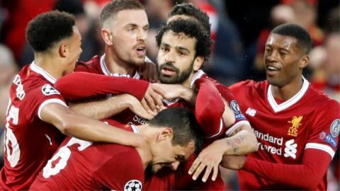 Salah scores