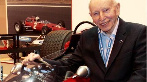 Former Formula 1 and Motorcycle champion John Surtees