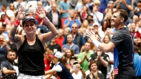 Jamie Murray and Bethanie Mattek-Sands win US Open mixed doubles