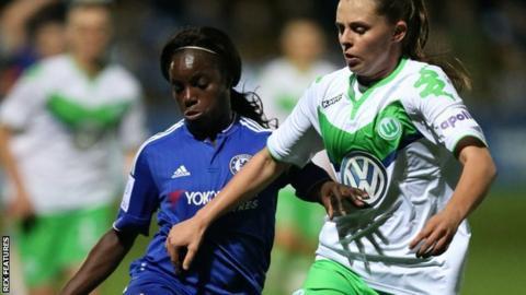 Eniola Aluko (left)
