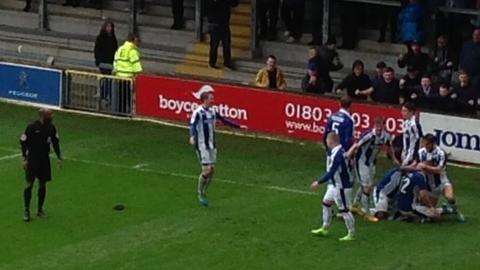 Chester celebrate victory