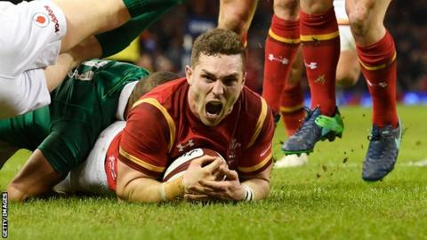 George North returning to Wales