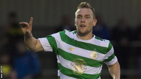Celtic midfielder Mark Hill is joining the Championship leaders