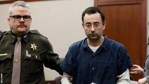 Larry Nassar was jailed for more than 300 years abuse
