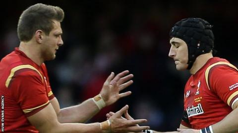 Dan Biggar and Sam Davies
