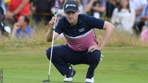 Russell Knox missed out of a place in Europe's Ryder Cup team for 2018
