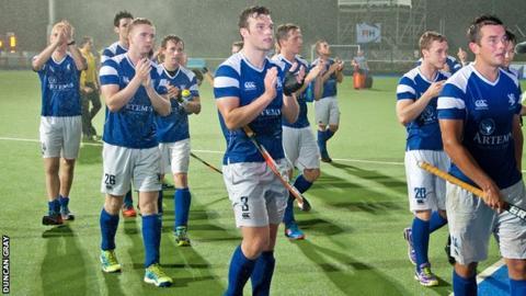 Scotland have beaten Switzerland and Slovakia comfortably so far in hockey's World League round one