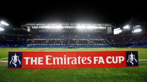 Stamford Bridge ahead of kick off