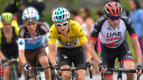 Criterium du Dauphine: Geraint Thomas wins ahead of Adam Yates