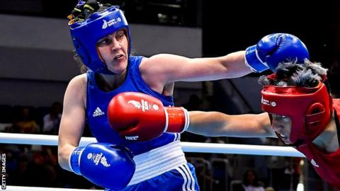 European Games: Michaela Walsh secures featherweight medal
