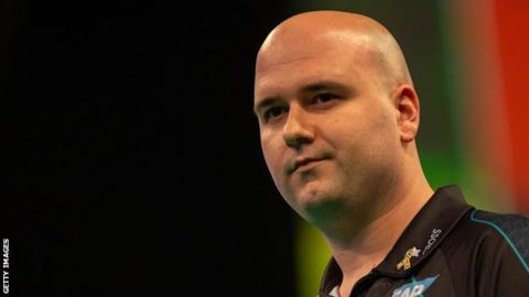 Rob Cross averaged 102.03 in his Premier League win against Peter Wright in Liverpool