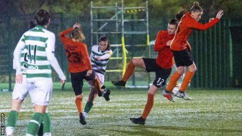 Celtic shocked 13-time champions Glasgow City in the opening round of the SWPL before the season was halted