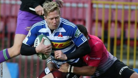 South African utility back Scott Van Breda