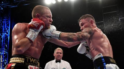 Frampton claims Windsor Park win was bigger than Santa Cruz fight