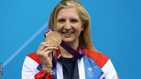 Britain's Rebecca Adlington
