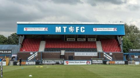 Macclesfield Town are 23rd in the League Two table and three points off safety