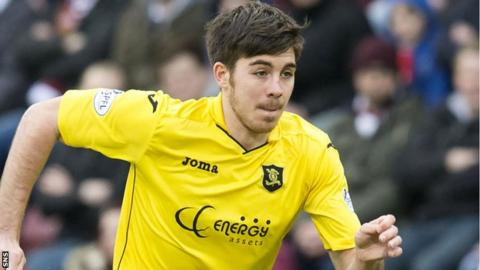 Livingston defender Declan Gallagher