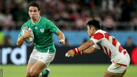 Northern Ireland Joey Carbery