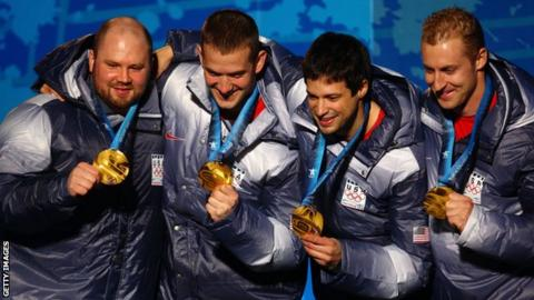 Steven Holcomb piloted Team USA's four-man bobsled to a historic gold at the 2010 Winter Olympics in Vancouver