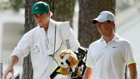 Niall Horan (left) with Rory McIlroy