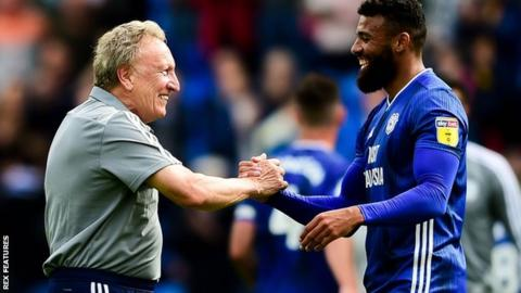 Neil Warnock and Isaac Vassell
