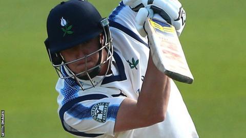 Yorkshire batsman Tom Kohler-Cadmore