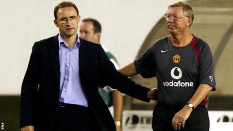 Martin O'Neill and Sir Alex Ferguson