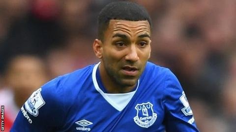 Everton winger Aaron Lennon
