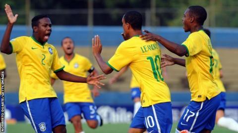 Brazil's U-17s players