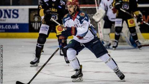 Edinburgh Capitals forward Mike Cazzola