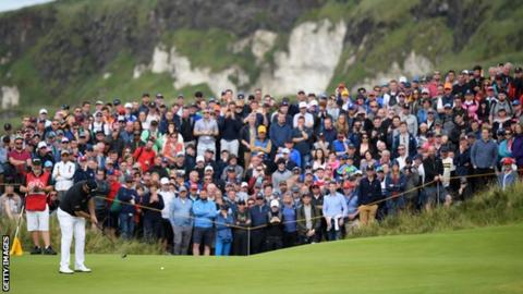The Open 2019: Shane Lowry's incredible 63 puts him in control ahead of final round