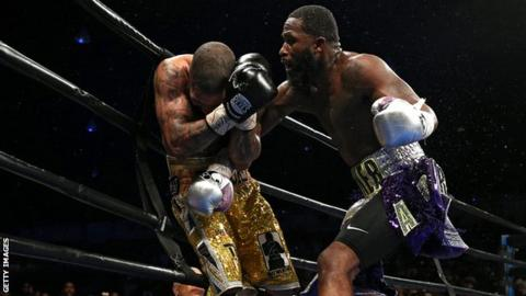 Adrien Broner stopped Ashley Theophane in the ninth round