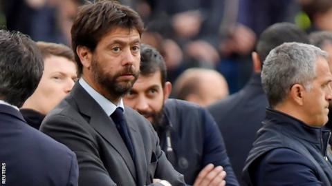 Andrea Agnelli says Europe's biggest clubs are protecting their interests against new plans for revamping European competition