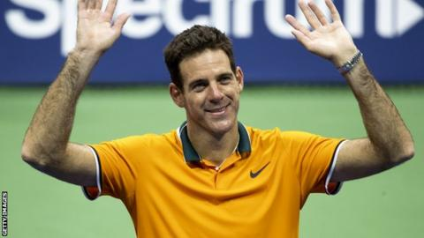 Del Potro confident of Djokovic breaking Federer's 20 Grand Slam record