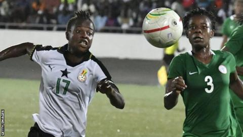 Image result for ghana vs nigeria soccer