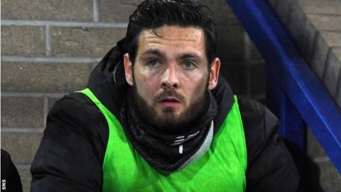 Celtic goalkeeper Craig Gordon at McDiarmid Park